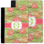 Lily Pads Notebook Padfolio w/ Name and Initial