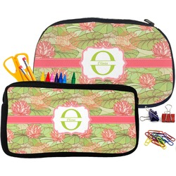 Lily Pads Pencil / School Supplies Bag (Personalized)