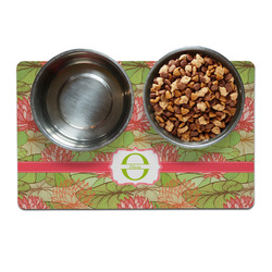 Lily Pads Dog Food Mat (Personalized)