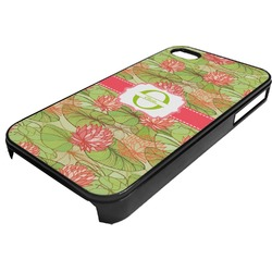 Lily Pads Plastic 4/4S iPhone Case (Personalized)