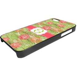 Lily Pads Plastic iPhone 5/5S Phone Case (Personalized)