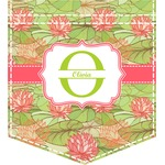 Lily Pads Iron On Faux Pocket (Personalized)