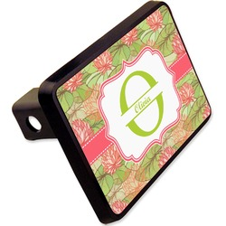 "Lily Pads Rectangular Trailer Hitch Cover - 2"" (Personalized)"