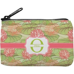 Lily Pads Rectangular Coin Purse (Personalized)