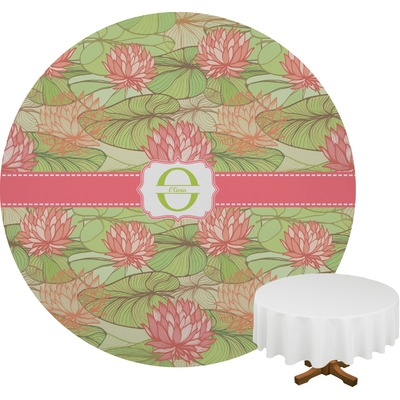 Lily Pads Round Tablecloth (Personalized)