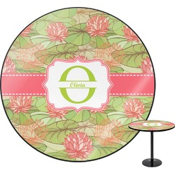 Lily Pads Round Table (Personalized)