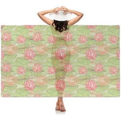 Lily Pads Sheer Sarong (Personalized)