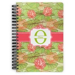 Lily Pads Spiral Bound Notebook (Personalized)