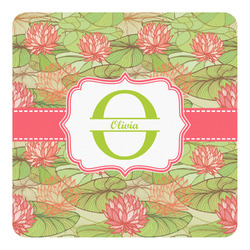 Lily Pads Square Decal - Custom Size (Personalized)