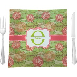 Lily Pads Square Dinner Plate (Personalized)