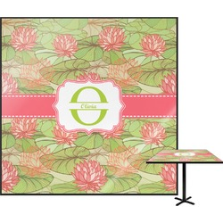 Lily Pads Square Table Top (Personalized)