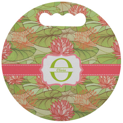 Lily Pads Stadium Cushion (Round) (Personalized)