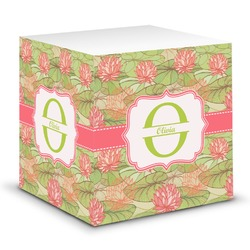 Lily Pads Sticky Note Cube (Personalized)