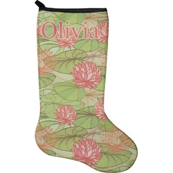 Lily Pads Christmas Stocking - Neoprene (Personalized)