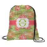 Lily Pads Drawstring Backpack (Personalized)