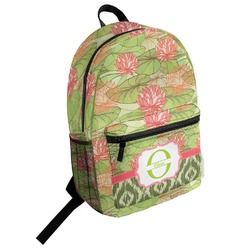 Lily Pads Student Backpack (Personalized)