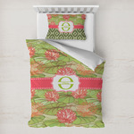 Lily Pads Toddler Bedding w/ Name and Initial