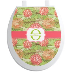 Lily Pads Toilet Seat Decal (Personalized)