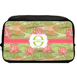 Lily Pads Toiletry Bag / Dopp Kit (Personalized)