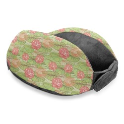 Lily Pads Travel Neck Pillow (Personalized)