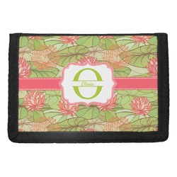 Lily Pads Trifold Wallet (Personalized)