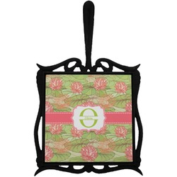Lily Pads Trivet with Handle (Personalized)
