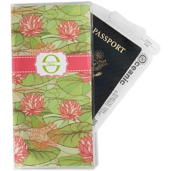 Lily Pads Travel Document Holder