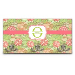 Lily Pads Wall Mounted Coat Rack (Personalized)
