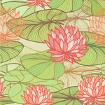 Lily Pads Wallpaper & Surface Covering
