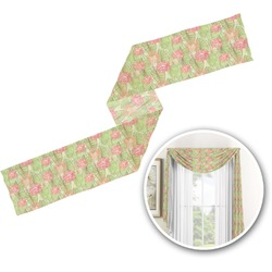 Lily Pads Window Sheer Scarf Valance (Personalized)