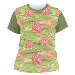 Lily Pads Women's Crew T-Shirt (Personalized)