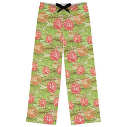 Lily Pads Womens Pajama Pants (Personalized)