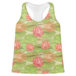Lily Pads Womens Racerback Tank Top (Personalized)