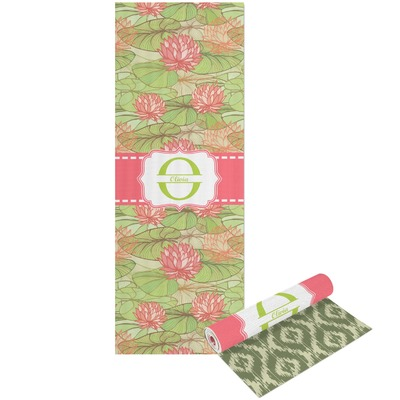 Lily Pads Yoga Mat - Printable Front and Back (Personalized)
