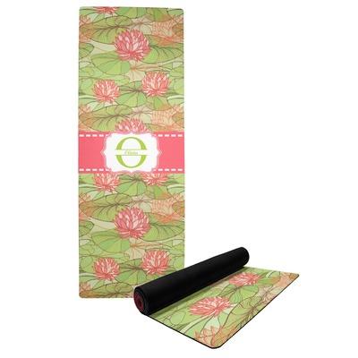 Lily Pads Yoga Mat (Personalized)
