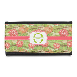 Lily Pads Leatherette Ladies Wallet (Personalized)