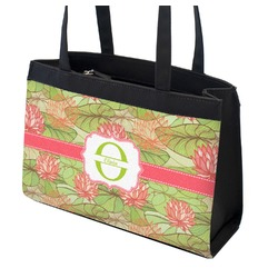 Lily Pads Zippered Everyday Tote (Personalized)