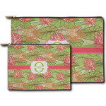 Lily Pads Zipper Pouch (Personalized)
