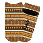African Masks Adult Ankle Socks