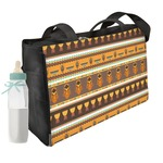African Masks Diaper Bag