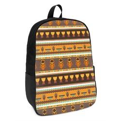 African Masks Kids Backpack