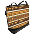 African Masks Beach Tote Bag
