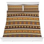 African Masks Comforter Set