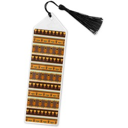African Masks Book Mark w/Tassel