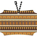 African Masks Rear View Mirror Ornament