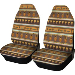 African Masks Car Seat Covers (Set of Two)