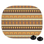 African Masks Car Side Window Sun Shade
