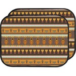 African Masks Car Floor Mats (Back Seat)