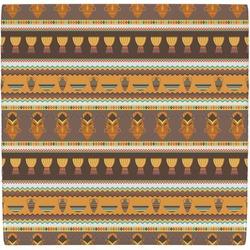 African Masks Ceramic Tile Hot Pad