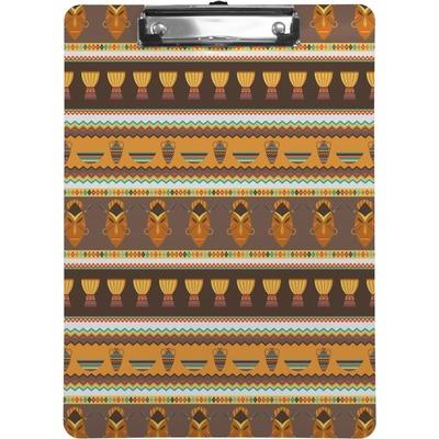 African Masks Clipboard